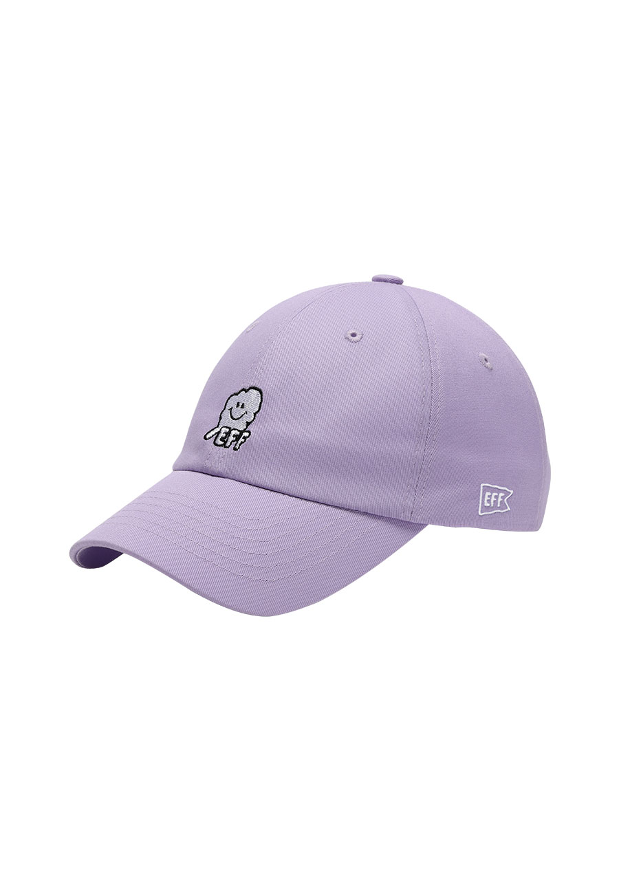 CLOTTYOUTLINE CC EFF BALLCAP[PURPLE]